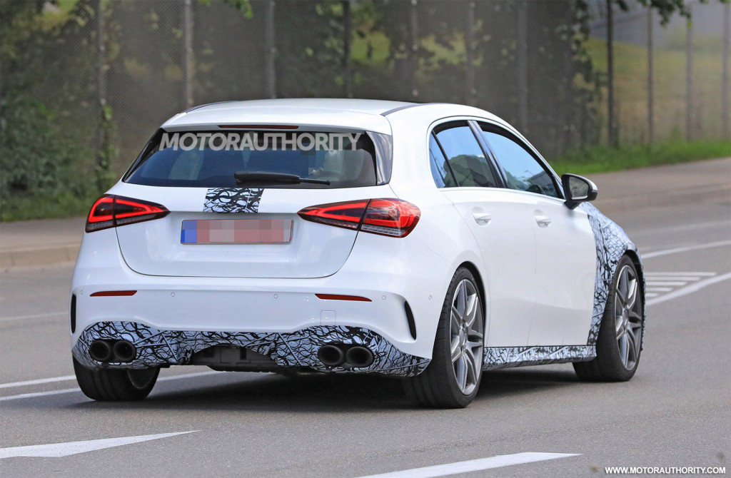 2019 Mercedes-AMG A35 spy shots