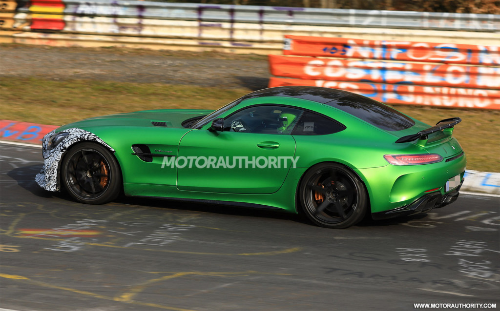 """2020 Mercedes-AMG GT R """"Clubsport"""" spy shots and video"""