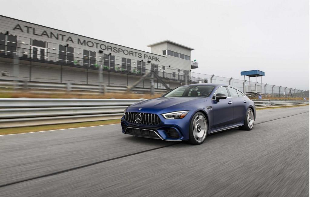 Motor Authority Best Car to Buy nominee: Mercedes-AMG GT 4-Door Coupe
