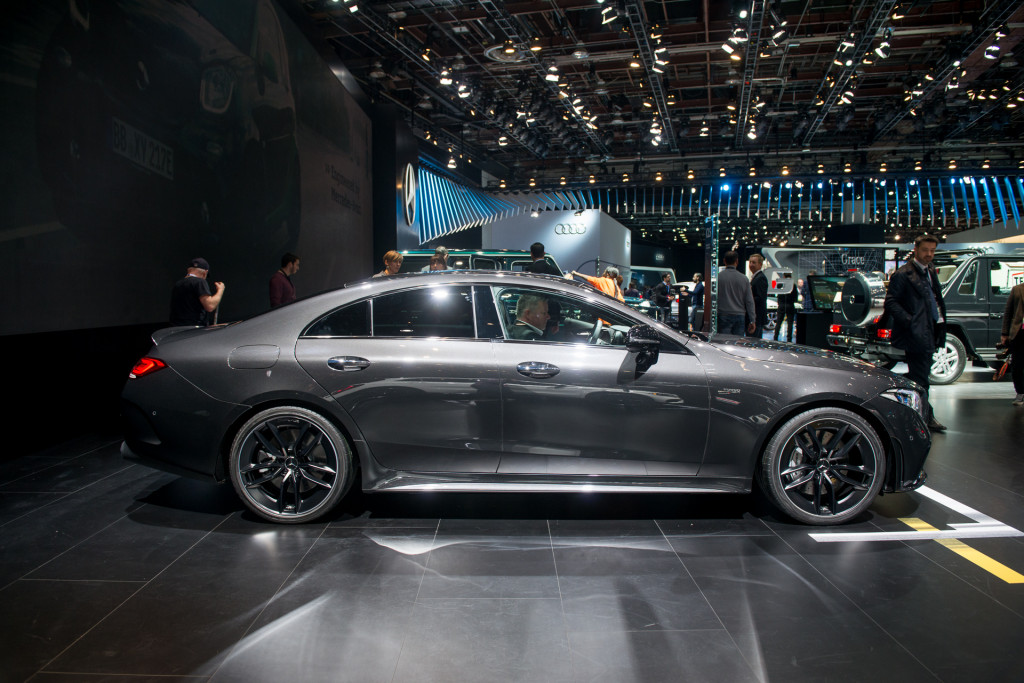 Image 2019 mercedes amg cls53 2018 detroit auto show size 1024 x 683 type gif posted on - Mercedes car show ...