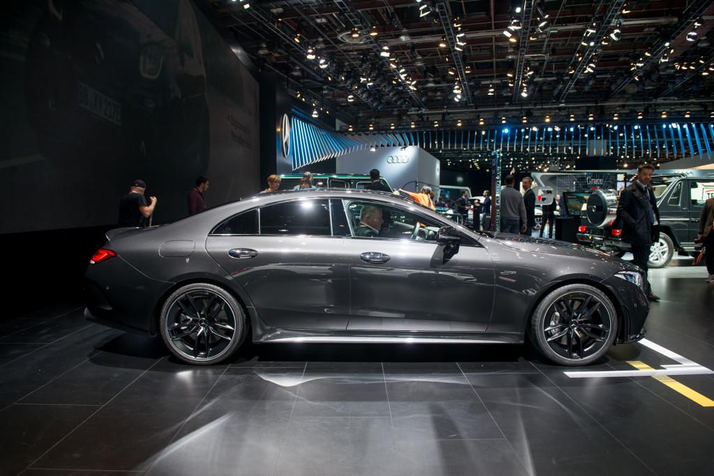 2019 Mercedes-AMG CLS53, 2018 Detroit auto show