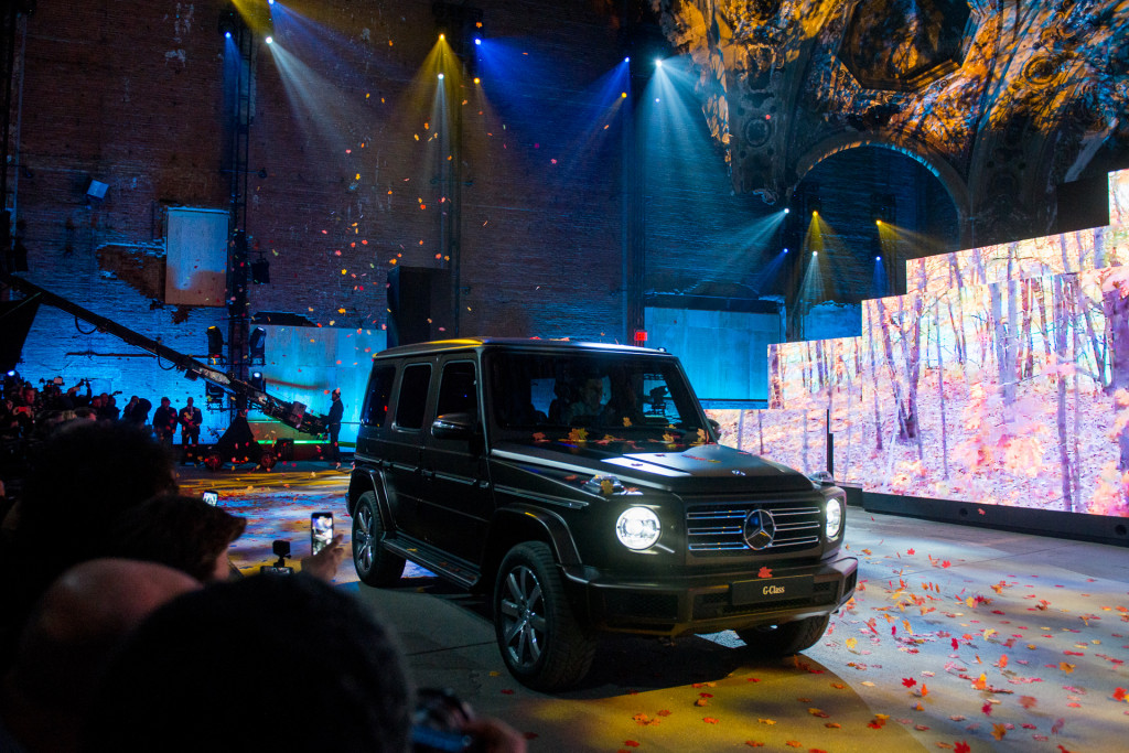 Best Used Minivans >> Image: 2019 Mercedes-Benz G-Class, 2018 Detroit auto show, size: 1024 x 683, type: gif, posted ...