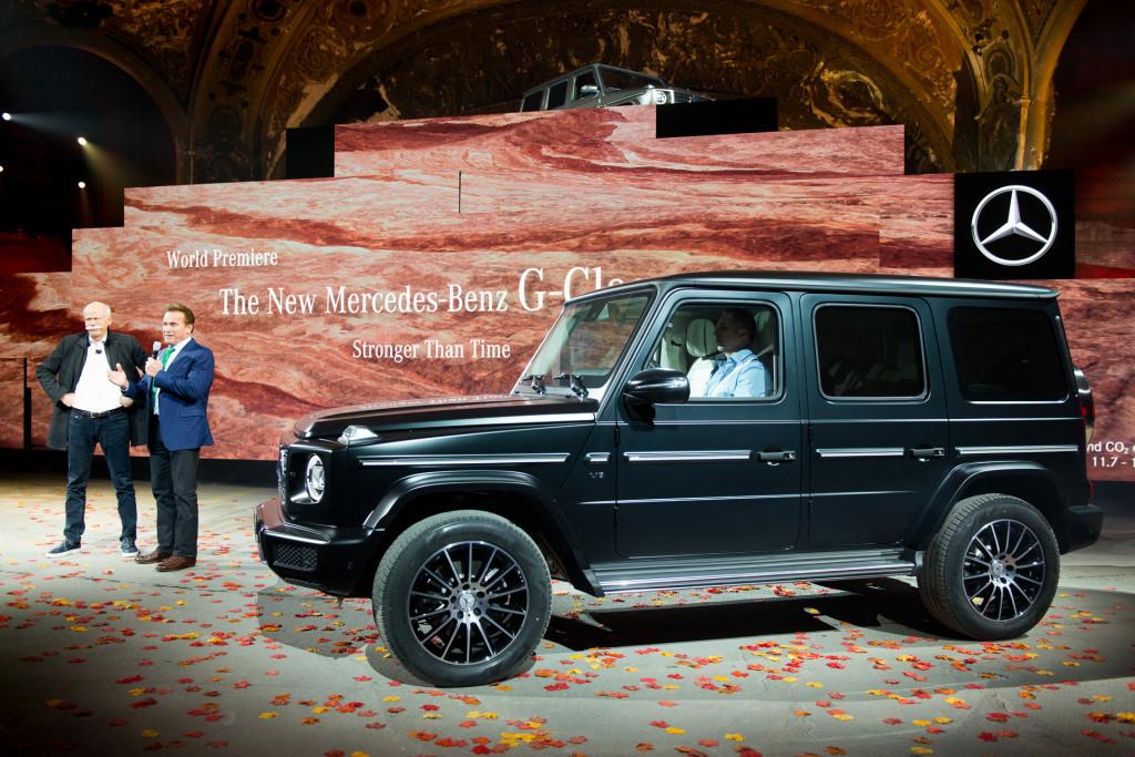2019 Mercedes-Benz G-Class, 2018 Detroit auto show