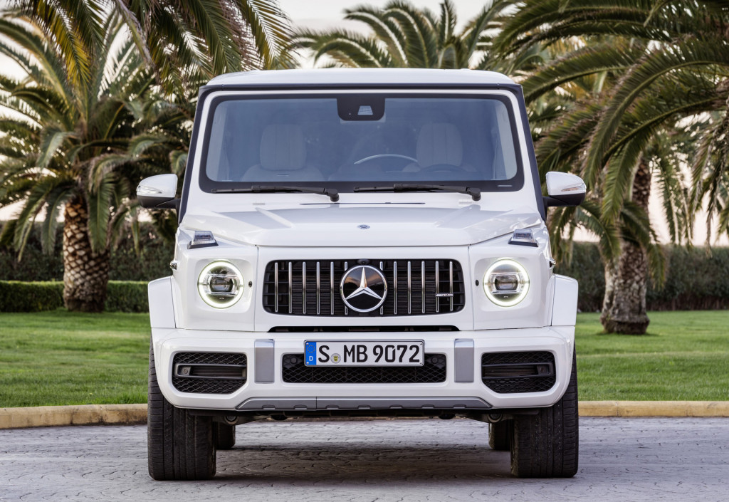 2019 Mercedes-AMG G63 muscles in with 577 horsepower