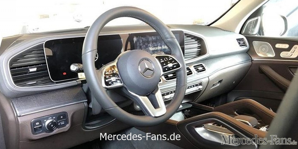 Mercedes-Benz teases 2020 GLE luxury SUV