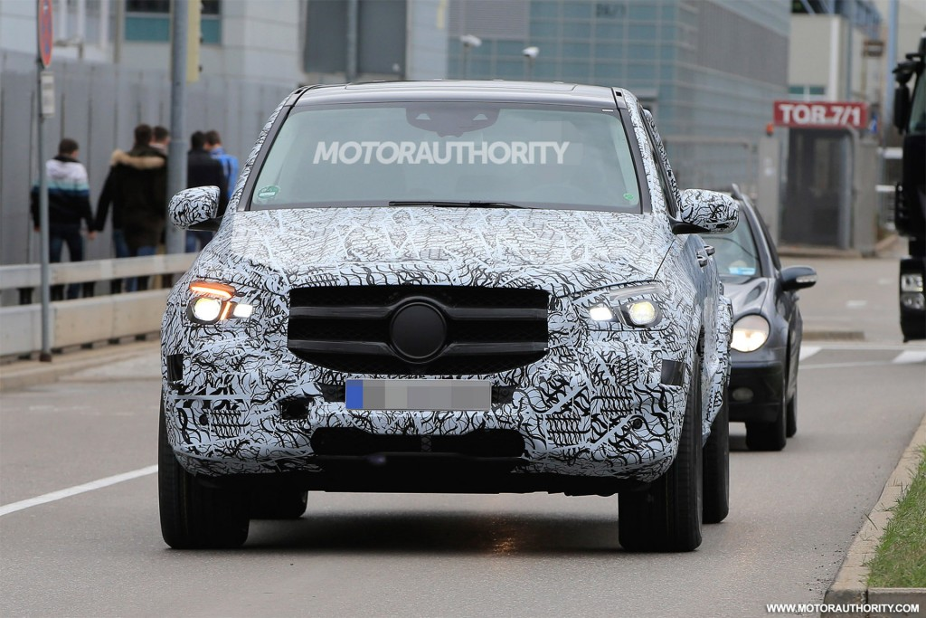 2019 Mercedes-Benz GLE spy shots and video