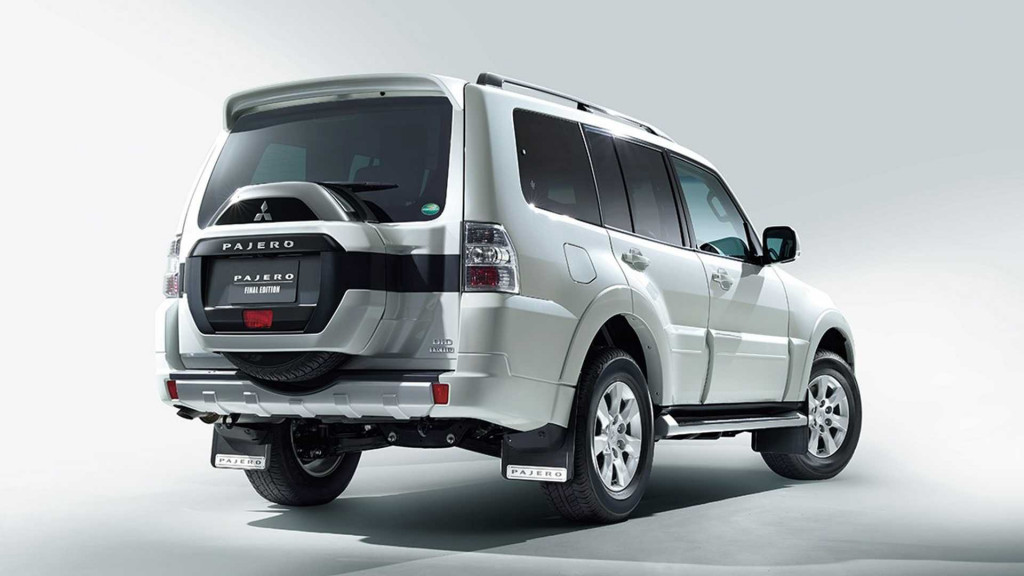 2019 Mitsubishi Pajero Final Edition