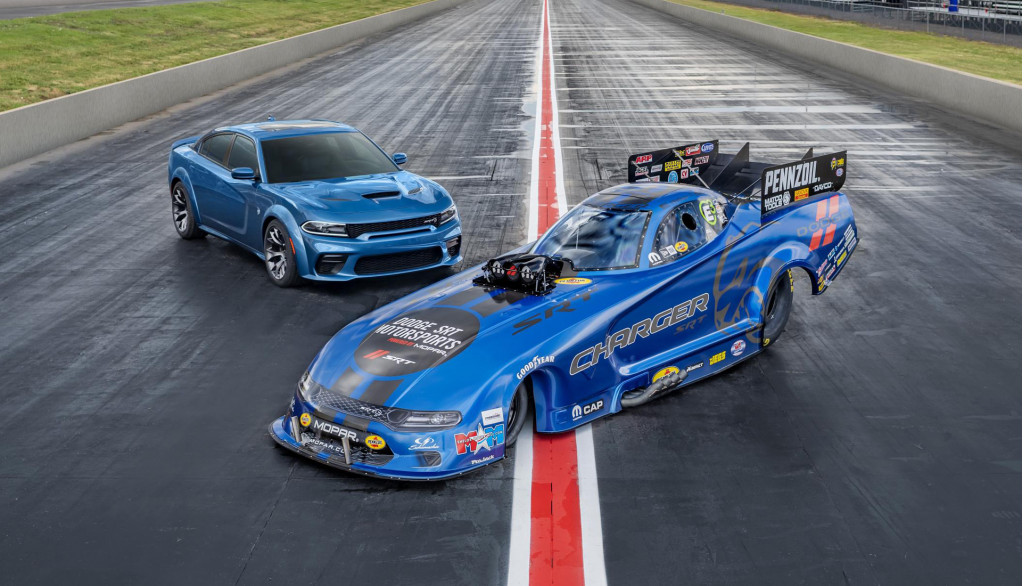 2020 Dodge Charger SRT Hellcat Widebody already gets NHRA Funny Car treatment