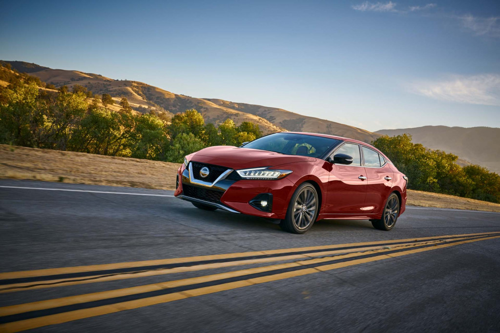 2019 Nissan Maxima first drive review: Sports sedan subtly reworked