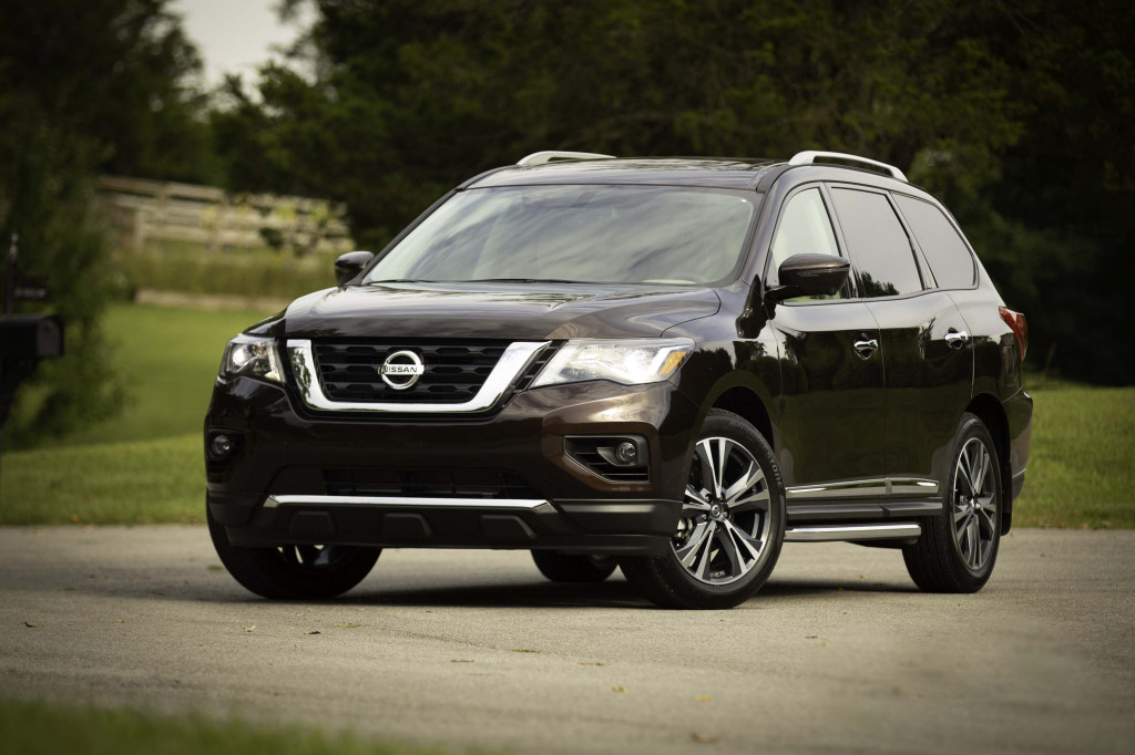 2019 Nissan Pathfinder Review Ratings Specs Prices And Photos The Car Connection
