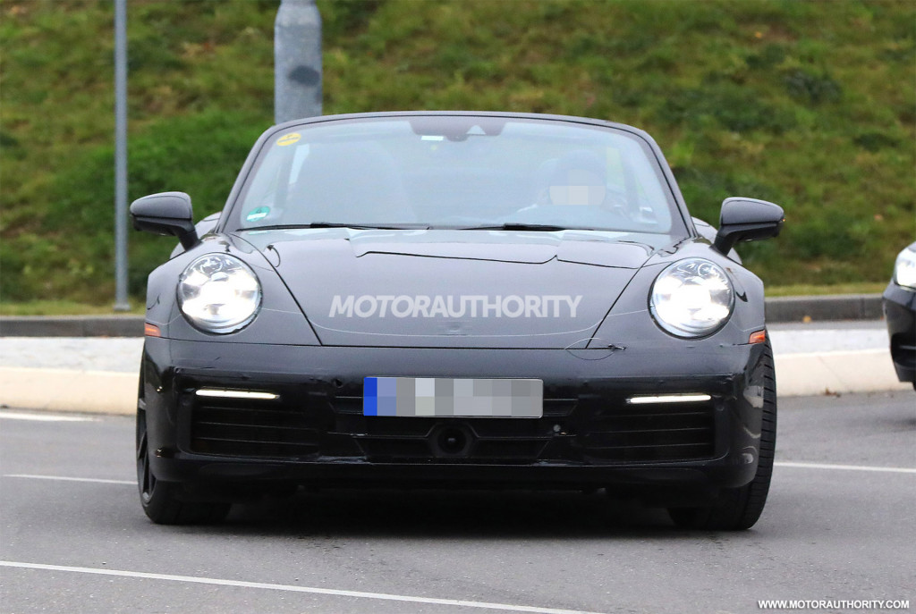 Porsche Cabrio Spy Shots News About Cool Cars - Cool car shots