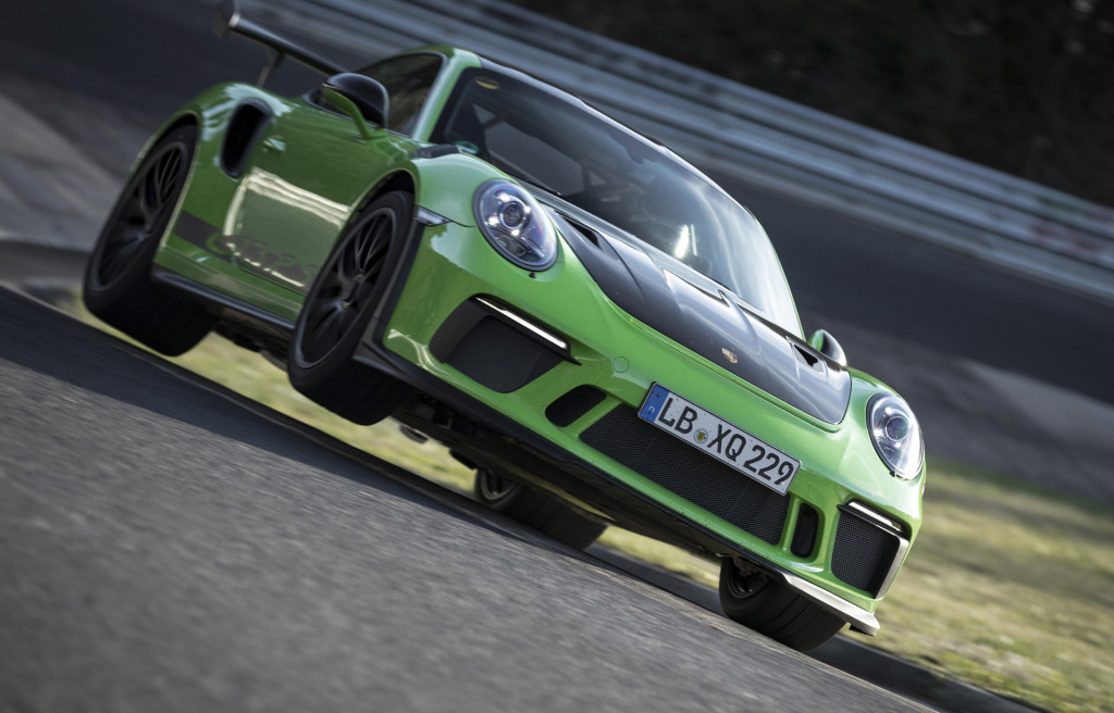 2019 Porsche 911 GT3 RS sets 6:56.4 Nürburgring lap time