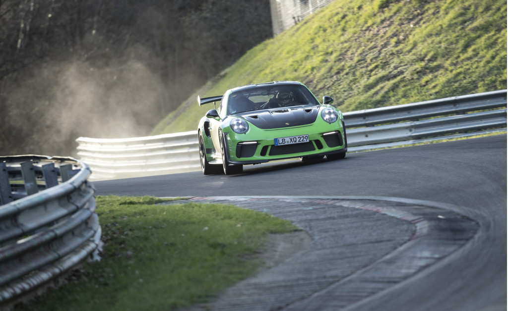 2019 Porsche 911 GT3 RS at the Nürburgring
