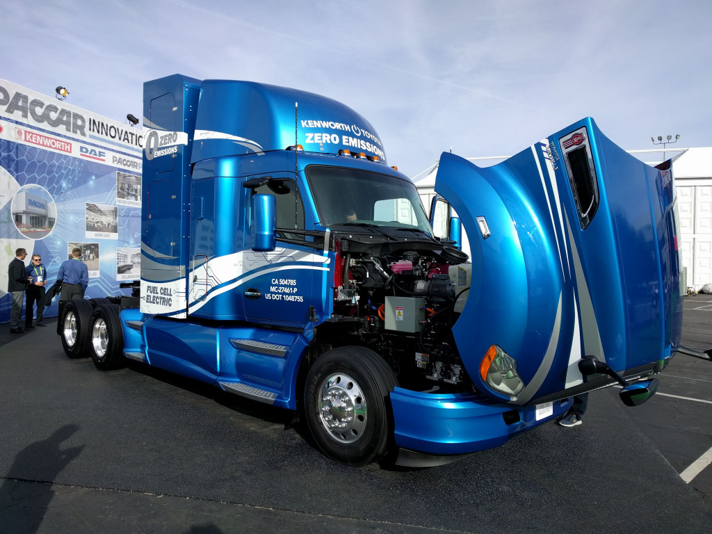 2019 Project Portal Truck—Kenworth/PACCAR, at CES 2019