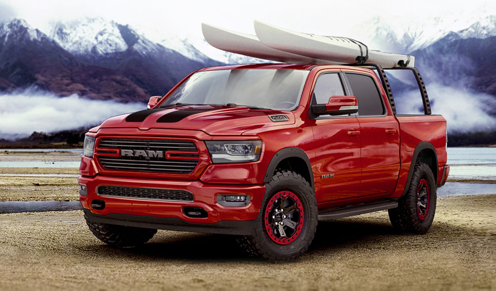 Ram Gets Moparized At Chicago Auto Show News - Ram cool cars