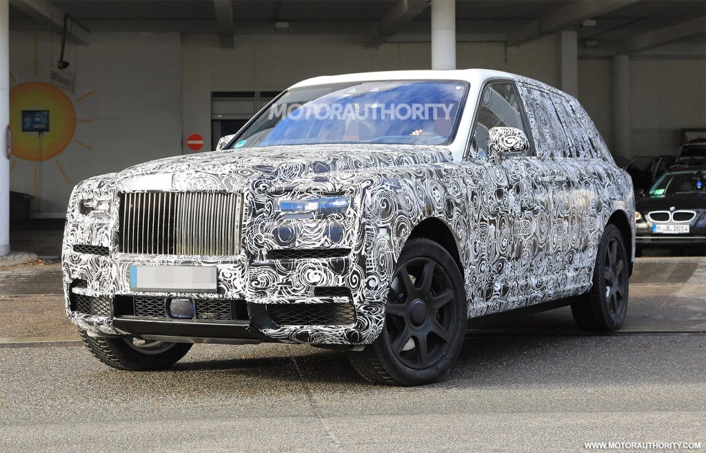 Rolls-Royce locks in Cullinan name for SUV