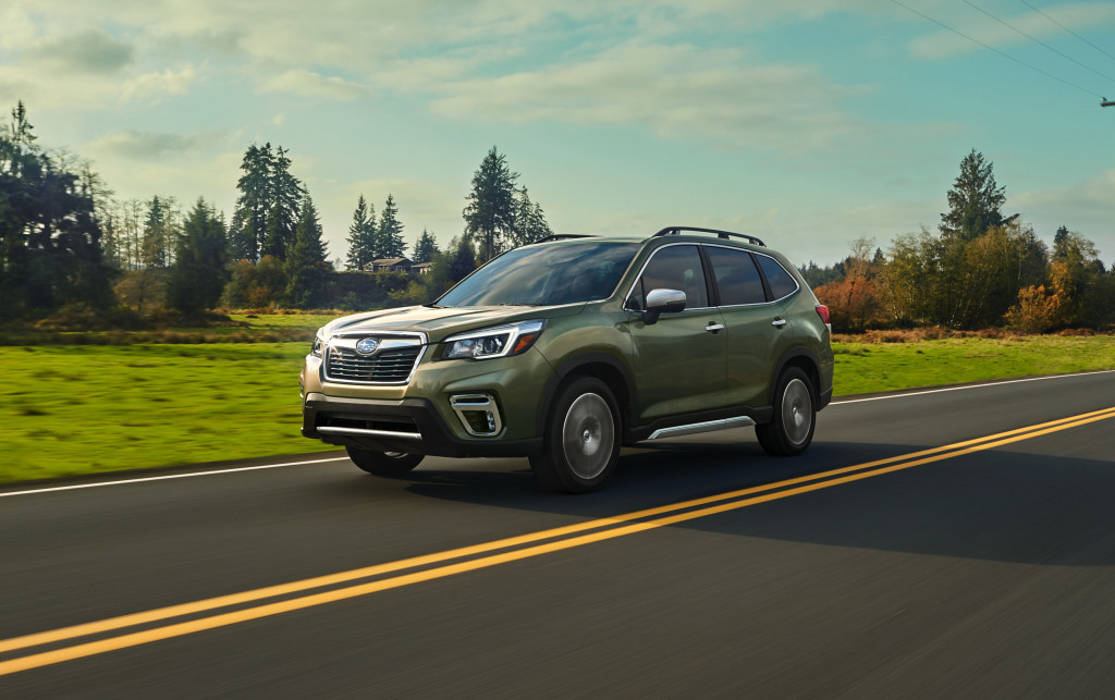 2019 Subaru Forester preview