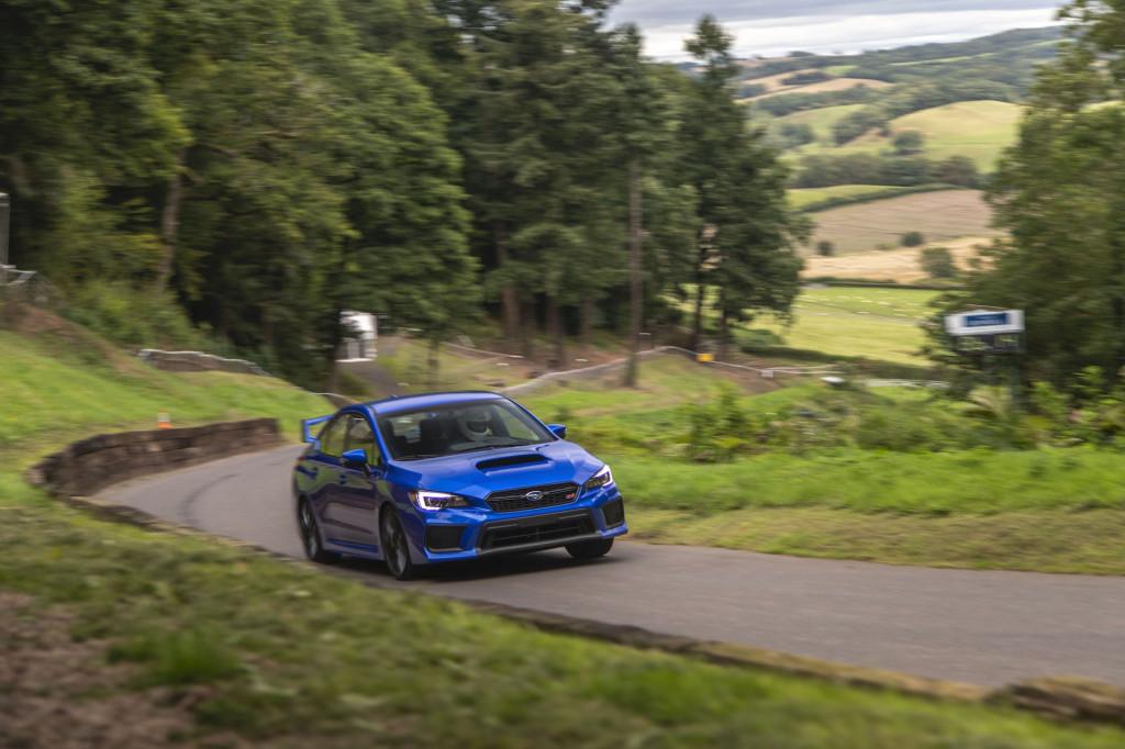 Storming the world's oldest hill climb in the 2019 Subaru WRX STI