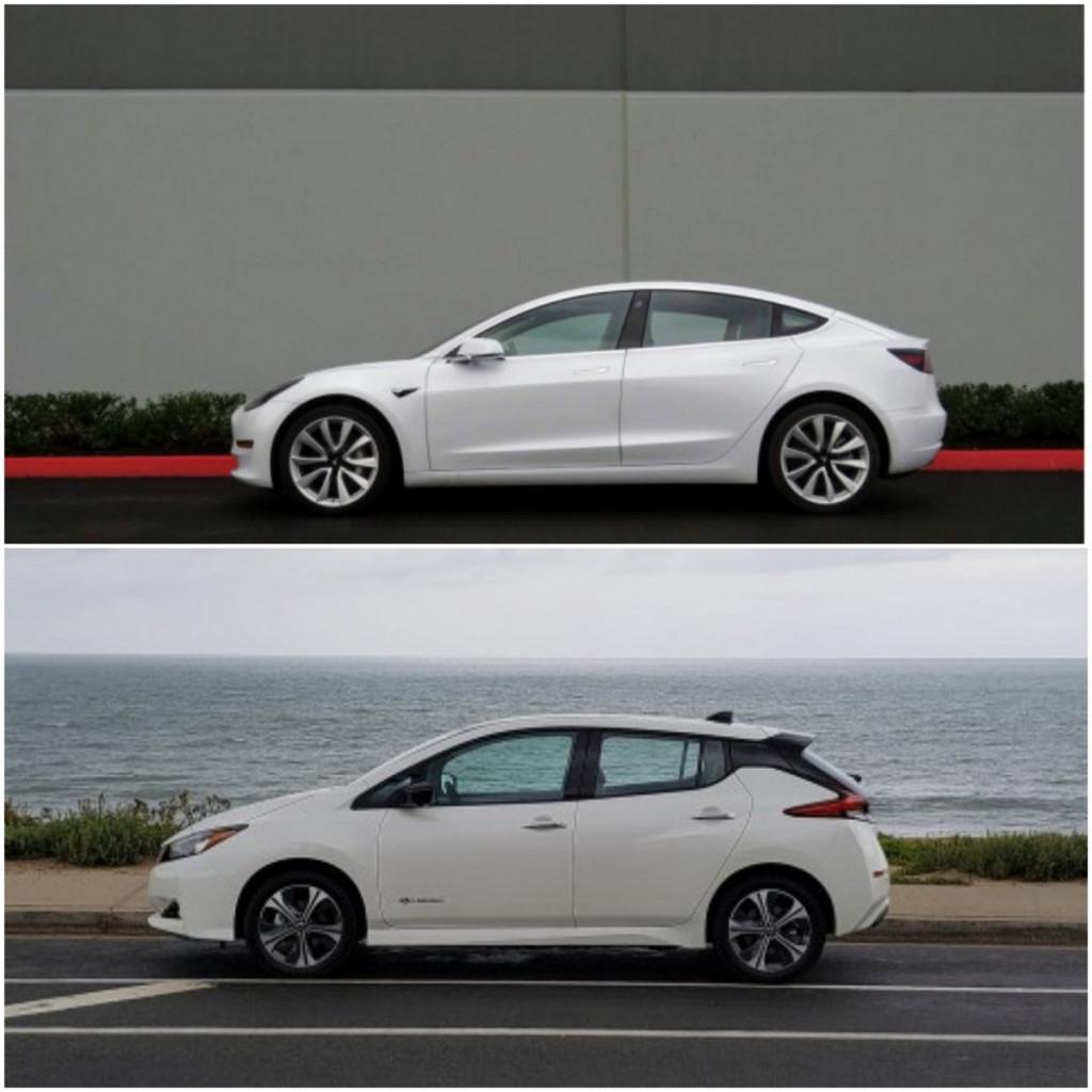Tesla Comparisons, Jaguar I-Pace And Chevy Bolt EV Drives