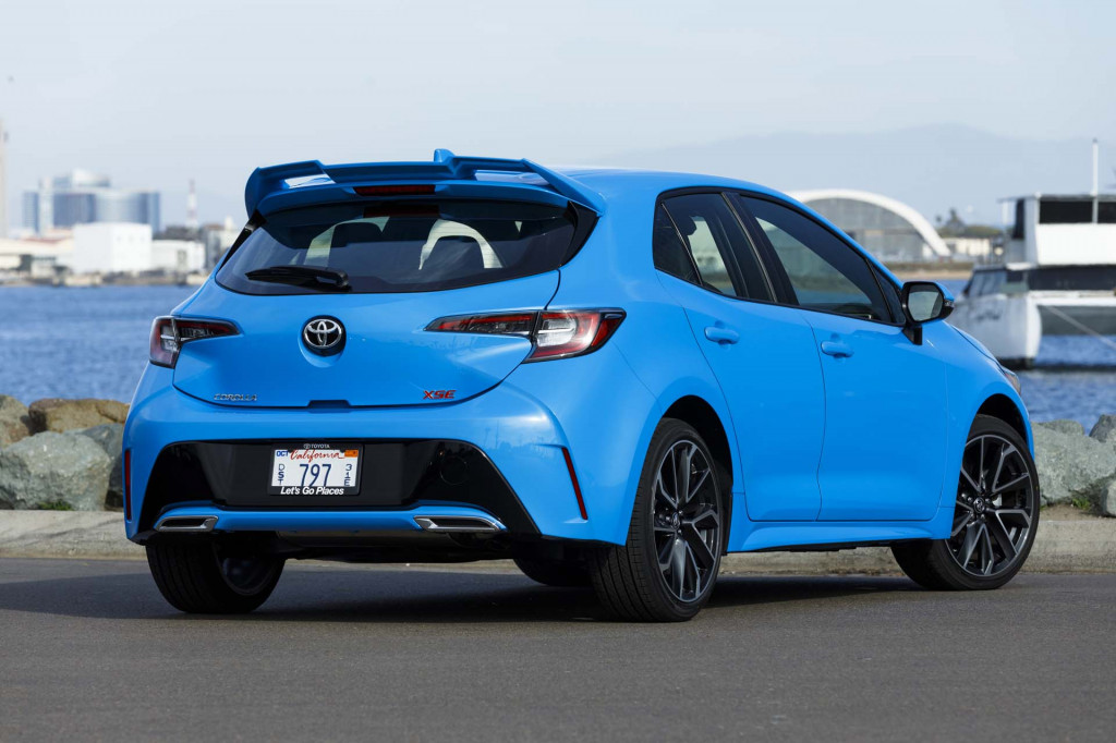 2019 Toyota Corolla Hatchback Priced Mclaren 720s Driven Electric Car Market What S New The Connection