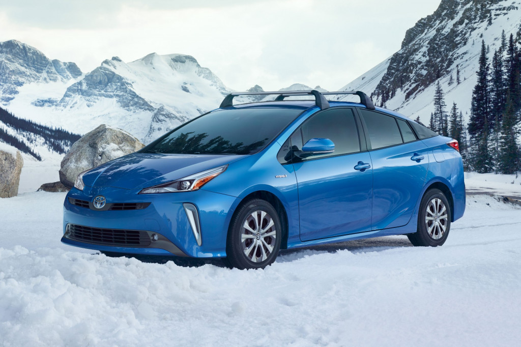 2019 Toyota Prius adds new all-wheel-drive option