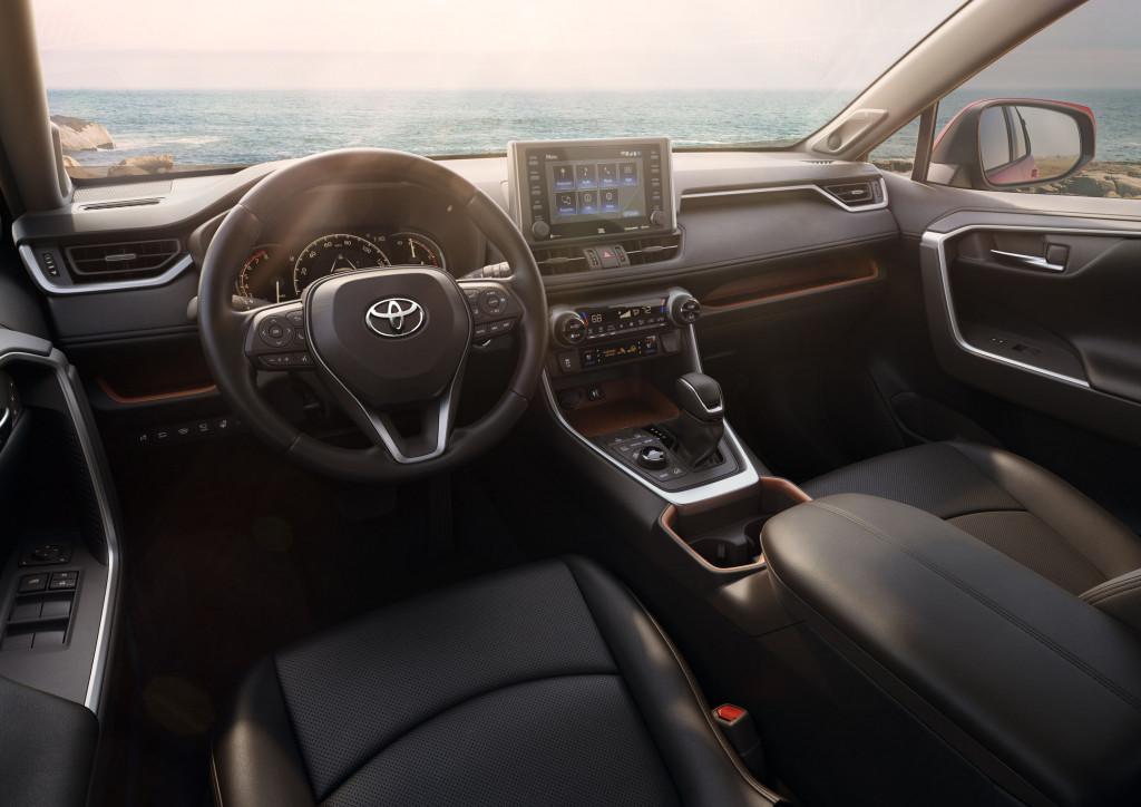 2019 Toyota Rav4 Takes On Tough New Look