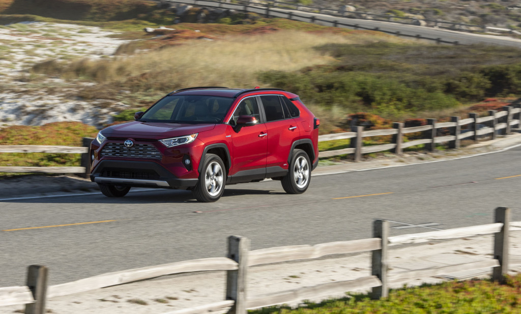 2019 Toyota RAV4 crossover recalled for faulty backup camera