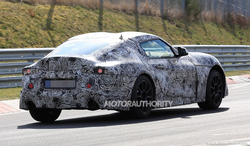 Geneva-bound race car concept previews new Toyota Supra