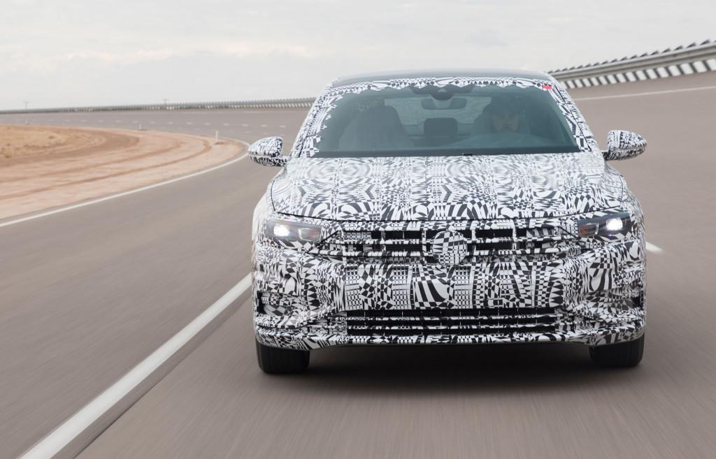 2019 Volkswagen Jetta prototype