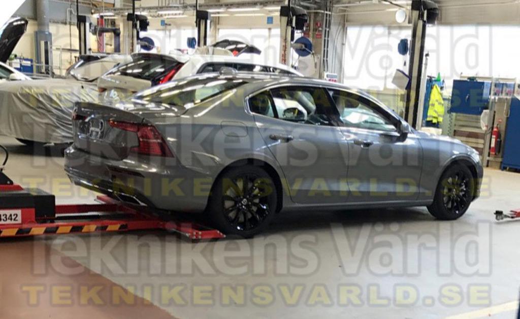 2019 Volvo S60 leaked - Image via Teknikens Värld