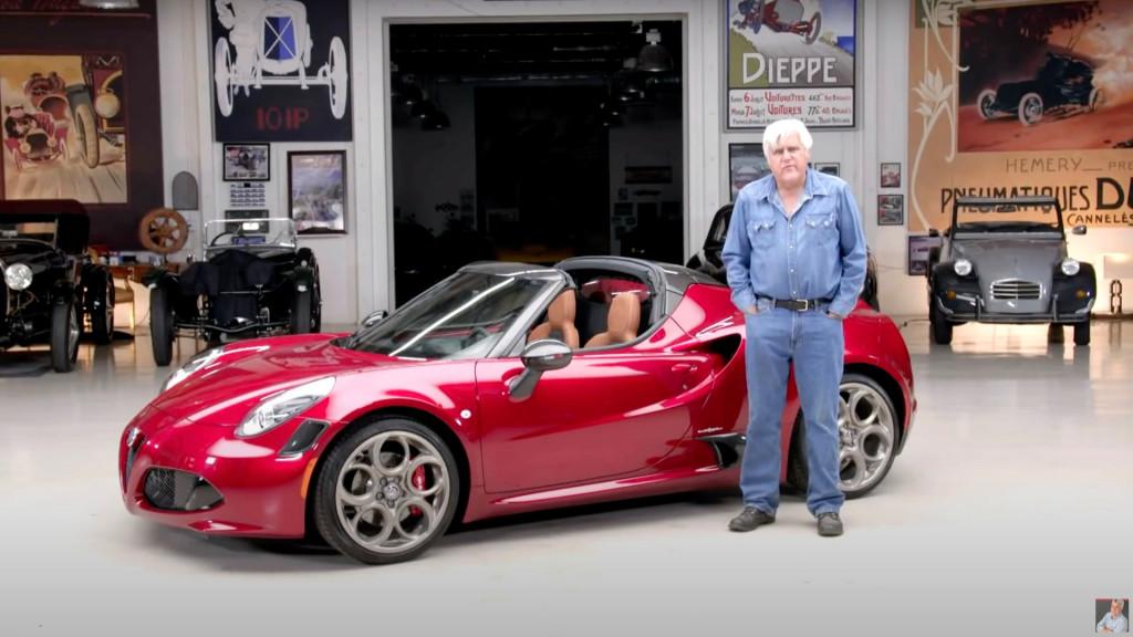 2020 Alfa Romeo 4C Spider 33 Tributo on Jay Leno's Garage