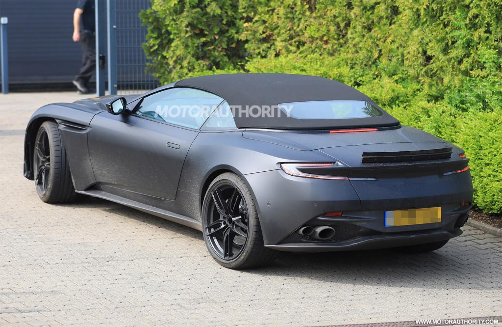 2020 Aston Martin DBS Superleggera Volante spy shots