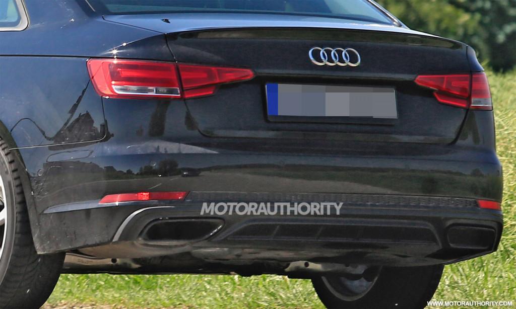 2020 Audi A4 spy shots