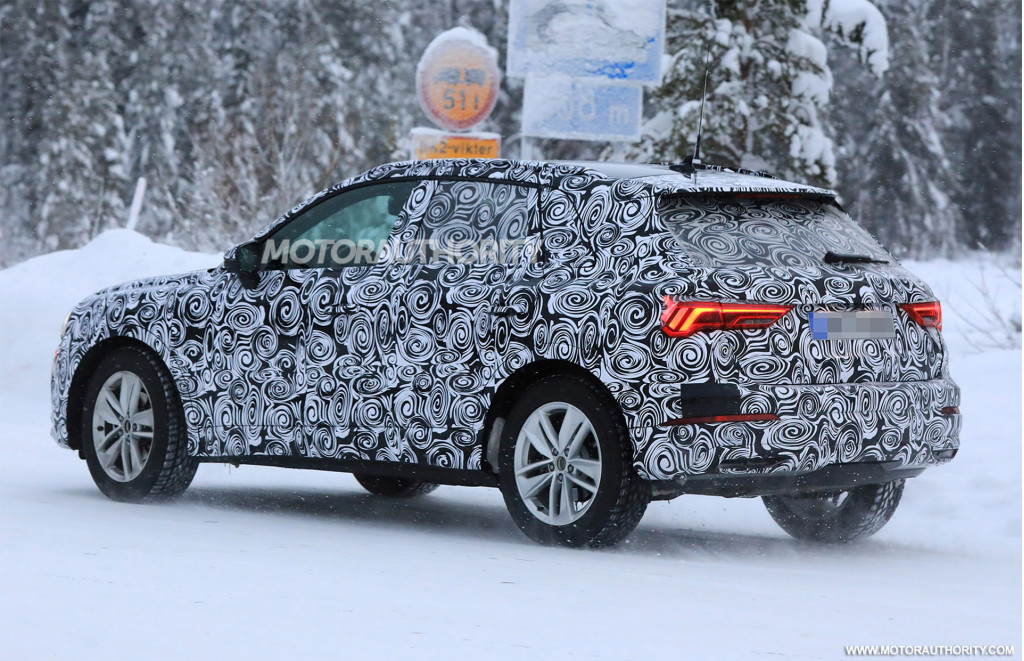 2020 Audi Q3 spy shots