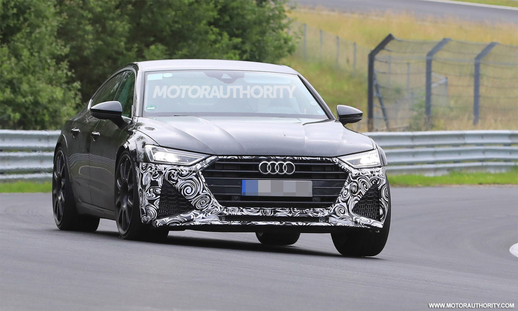 2020 Audi RS 7 spy shots and video