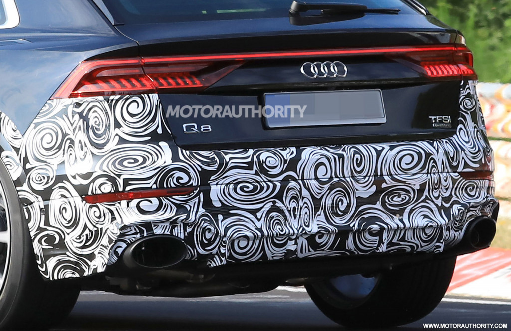 2020 Audi Q8: News, SQ8, RS Q8, Price >> 2020 Audi Rs Q8 Spy Shots And Video