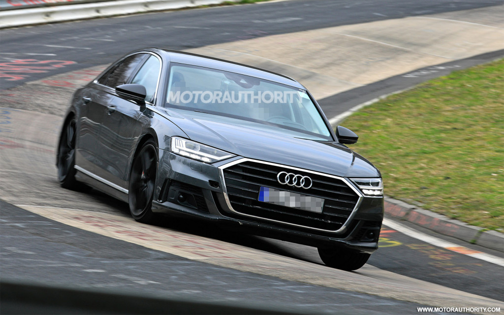 New Audi S8 2018 >> 2020 Audi S8 Spy Shots And Video