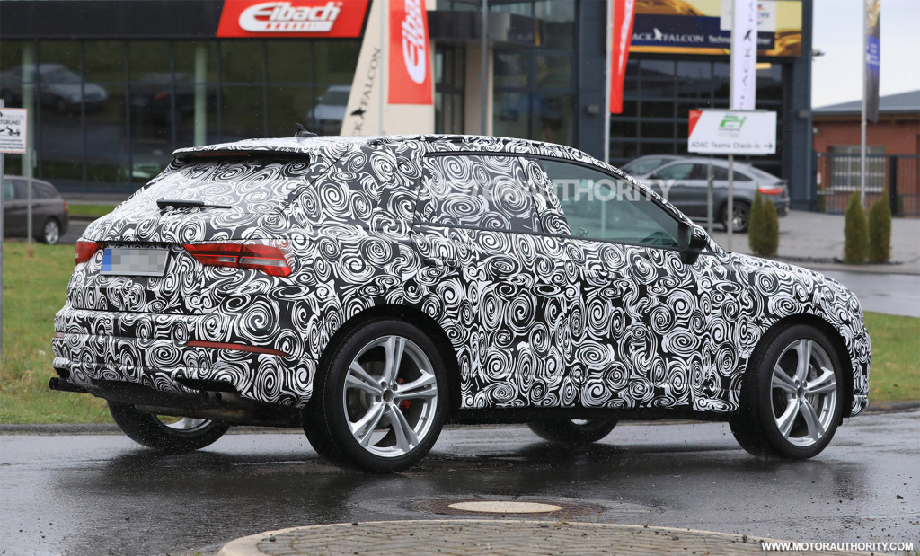 2020 Audi RS Q3 spy shots