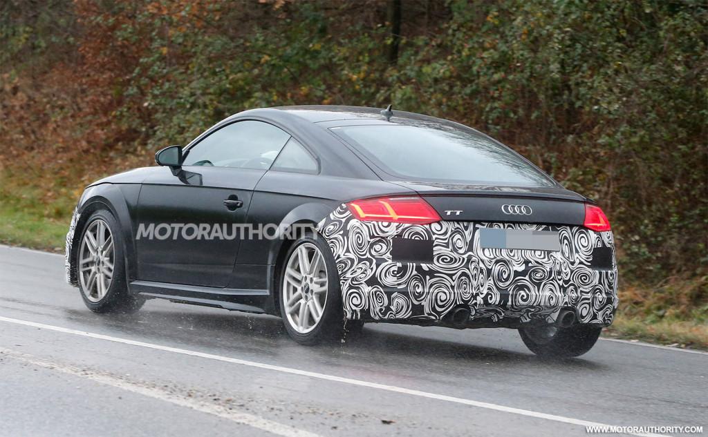 2020 Audi TT spy shots