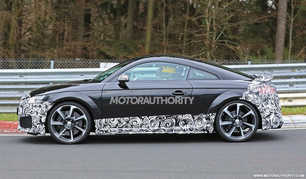 2020 Audi TT RS spy shots