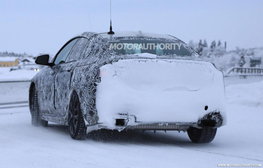 2020 BMW 2-Series Gran Coupe spy shots
