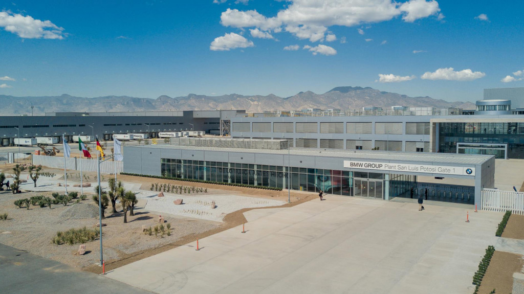 BMW plant in San Luis Potosi, Mexico