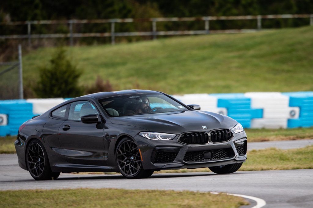 First drive review: The 2020 BMW M8 may be a large coupe, but it cooks