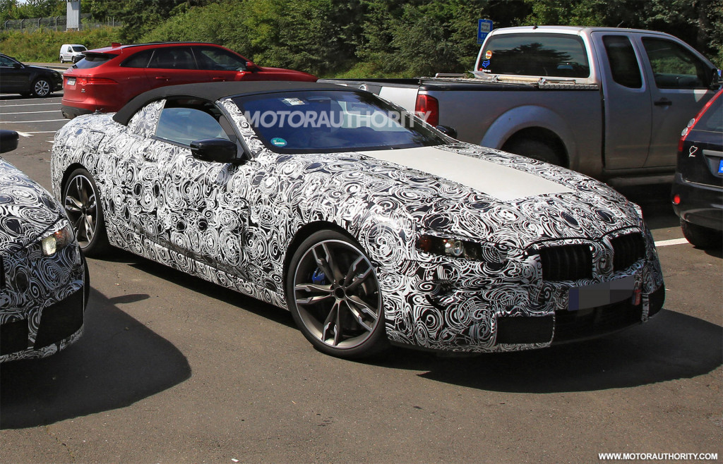 BMW Series Convertible Spy Shots And Video News About - Cool cars 2020