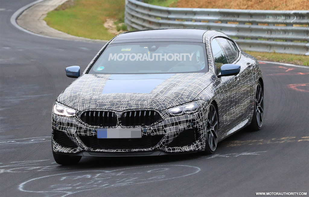 2020 BMW 8-Series Gran Coupe spy shots and video