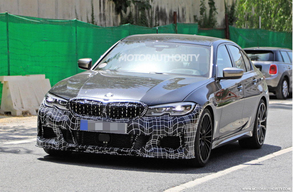 2020 BMW Alpina B3 Biturbo spy shots
