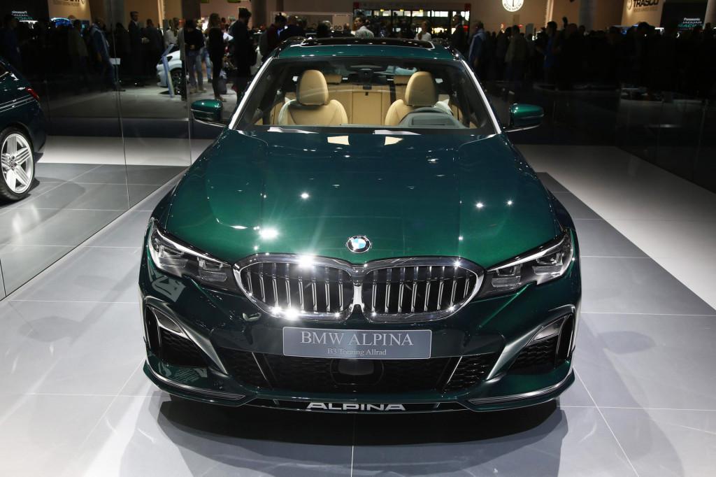 2020 BMW Alpina B3 debuts as sports wagon at Frankfurt auto show