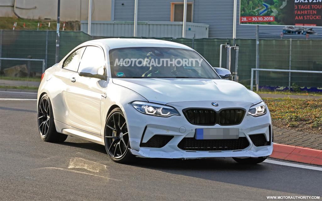 2020 BMW M2 CS spy shots