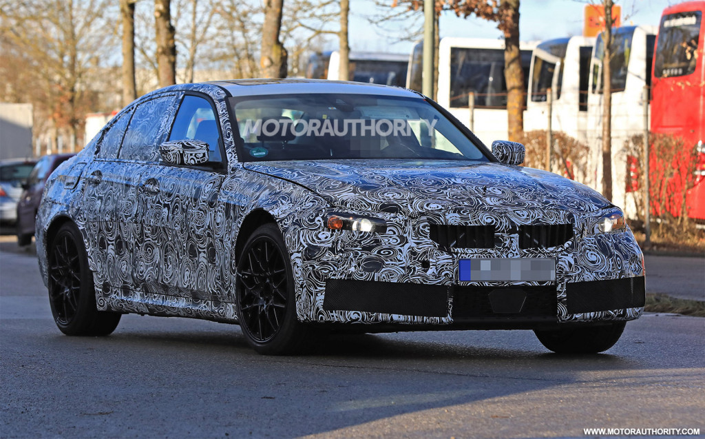 2020 BMW M3 spy shots