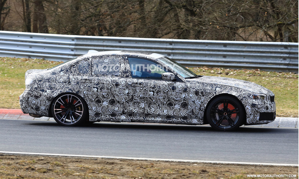 Next BMW M3 to weigh less than current M3 CS model